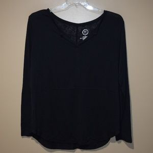 MAURICES 24/7 Women's Sz XL TEE Long Sleeve Tunic